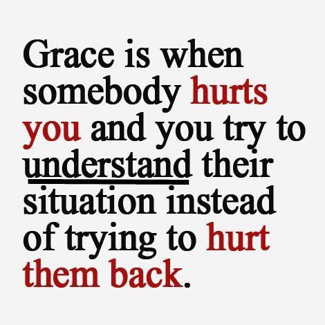 Give me grace to forgive them